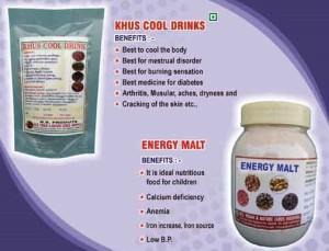 NS 6 Khus cool drinks and energy malt